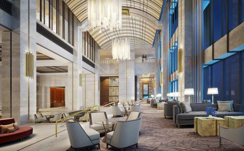 Gravitas Viz - Tianjin Hotel Lobby