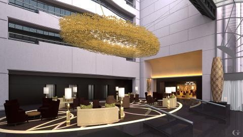 Galleria-Hilton-Lobby