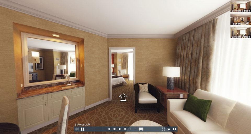360 Web Tour via Browser