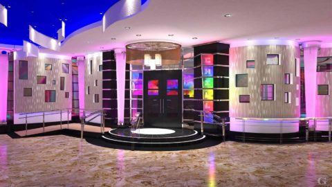 New Bar Entrance from lobby